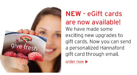 New eGift cards!