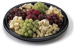 Party trays and platters